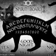 Black Cat Spirit Board (CA992)