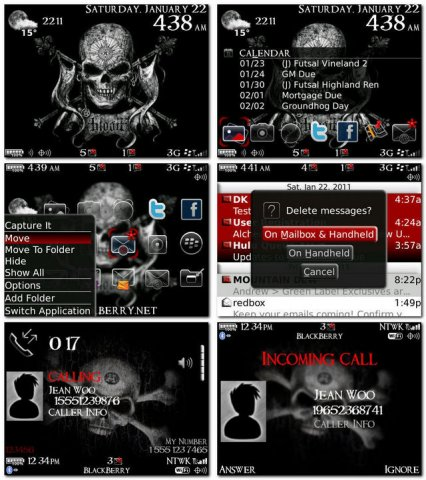 Alchemy Theme for the Blackberry 89, 96, 97